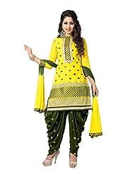 Venisa Yellow Color Salwar Suit Dress Material