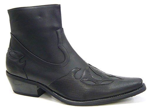 colt-herren-schuhe-stiefelette-cowboy-style-schwarz-45