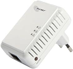 Allnet ALL168205NANO HomePlug AV Powerline - Juego de adaptadores de corriente para conexión de red (200 Mbit/s)