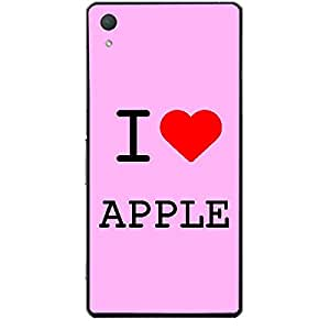 Skin4gadgets I love Apple Colour - Light Pink Phone Skin for XPERIA Z4