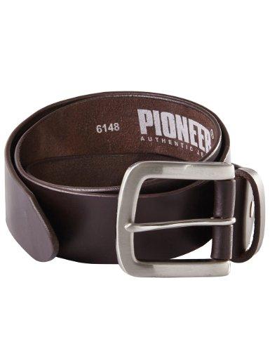 Pioneer-Herren-Grtel-9900-Einfarbig-Gr-110-cm-Braun-brown-40