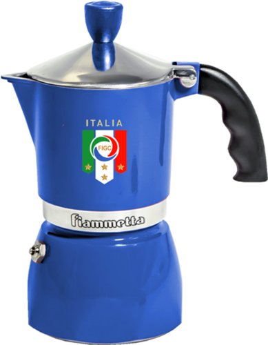 BIALETTI FIAMMETTA ITALIA MACCHINETTA PER CAFFE' ESPRESSO EDIZIONE LIMITATA