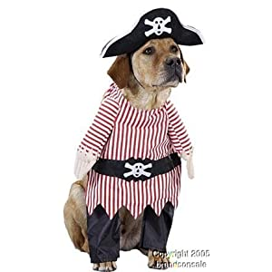 Pirates outfit image for pets