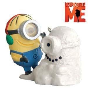 Despicable Me Despicable Snowminion 2010 Hallmark Ornament - QXI2386