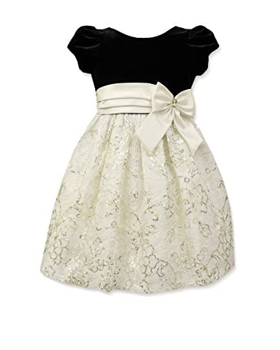 Jayne Copeland Kid's Sequin Lace Dress