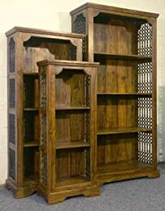 Indian Jali Thakat Set of 3 Bookcases       Customer reviews and more news