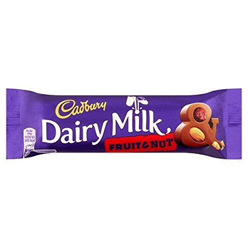 Cadbury-Dairy-Milk-Fruit-Nut-Chocolate-Bar-49g-Pack-de-48-x-Sgl