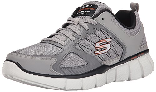 Skechers EQUALIZER 2.0- ON TRACK Herren Turnschuhe
