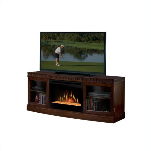 Dimplex Wickford Electric Fireplace Media Console in Walnut photo B005OW4348.jpg
