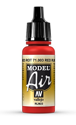 Vallejo Scarlet Red Paint, 17ml