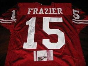 Tommie Frazier Nebraska 2x Champs Jsa coa Signed Jersey - Autographed College Jerseys by Sports+Memorabilia