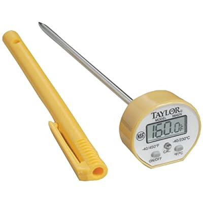 Commercial Waterproof Digital Cooking Thermometer from Taylor Precision Products.