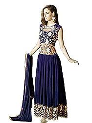 Prenea Women's Georgette Unstitched Salwar Suit Dupatta Material