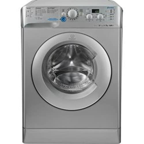 Indesit XWD71452S Silver 7kg 1200rpm Freestanding Washing Machine