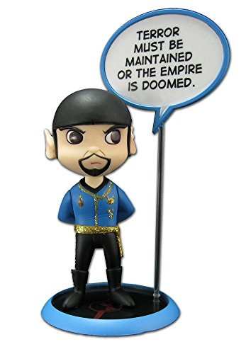 Quantum Mechanix Star Trek: Trekkies: San Diego Comic Con Spock Mirror Mirror Q-Pop Action Figure