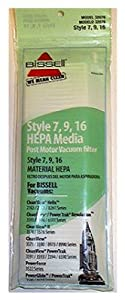Bissell Cleanview Replacement Vacuum Hepa Media Filter Style 7 For Use With Bissell Bagged