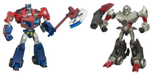 Buy cheap transformers animated the battle begins - Transformers cartoon optimus prime vs megatron ...