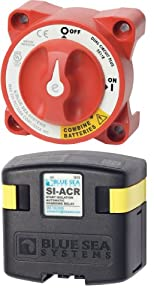 Blue Sea Systems 7560 Add-A-Battery System - Battery Switch and ACR by Blue Sea