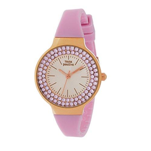 orologio-donna-think-positive-modello-se-w262-rose-cinturino-di-silicone-orologio-analogico-fashion-