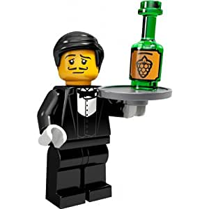 Amazon.com: LEGO 71000 Series 9 Waiter Minifig Minifigure: Toys