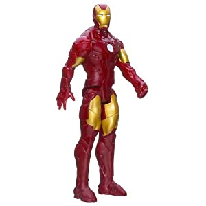 Marvel Iron Man 3 Titan Hero Series Avengers Initiative Classic Series Iron Man Figure