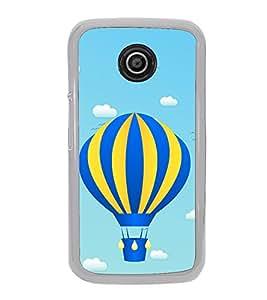 Hot Air Balloon 2D Hard Polycarbonate Designer Back Case Cover for Motorola Moto E2 :: Motorola Moto E Dual SIM( 2nd Gen) :: Motorola Moto E 2nd Gen 3G XT1506 :: Motorola Moto E 2nd Gen 4G XT1521