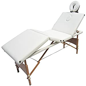 Table de massage reiki pliante pliable portable bois 4 - Table massage pliable ...