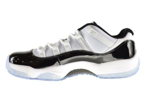 Air Jordan 11 Retro Low Men's Shoes White/Black-Dark Concord 528895-153 (11 D(M) US) баскетбольные кроссовки nike air jordan air jordan 11 retro low concord ps aj11 505835 153