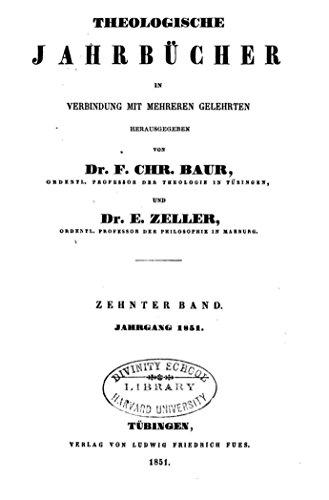 theologische-jahrbucher