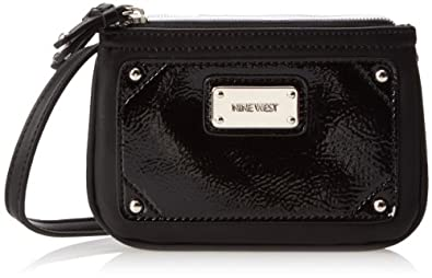 Nine West Tabtre DZ SZ Cross Body Bag,Black,One Size