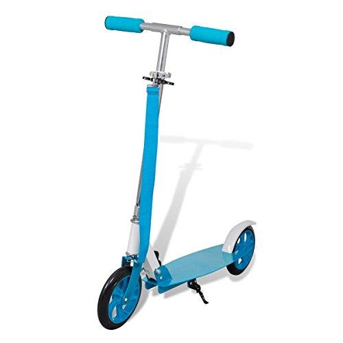 Scooter Roller Tretroller Cityroller Kinderroller klappbar 205 mm Blau 90421 #S