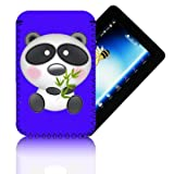 Biz-E-Bee Exclusive 'PANDA 7' Purple ARCHOS 70 (70b) INTERNET (ARNOVA 7, 7B, 7F, G2 & G3) Shock Shock Resistant 7 Inch Neoprene Tablet Case, Cover, Pouch