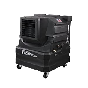Port A Cool PACCYC02 Cyclone 2000 Portable Evaporative Cooling Unit