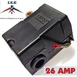 Heavy Duty 4port 26 Amp Air Compressor Pressure Switch Control Valve 140-175 PSI