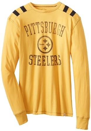 NFL Pittsburgh Steelers Mens Bruiser Long Sleeve Tee by