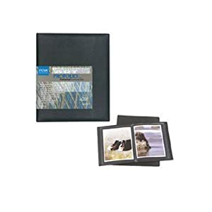 Itoya PU-24-11 Art Profolio Professional Polyglass 11x14in. Art 24 Pocket Pages for 48 Views Black