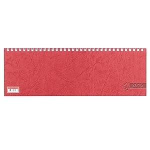 Glocken Querkalender 29,7x10cm 1 Woche auf 1 Seite rot Kalendarium 2015