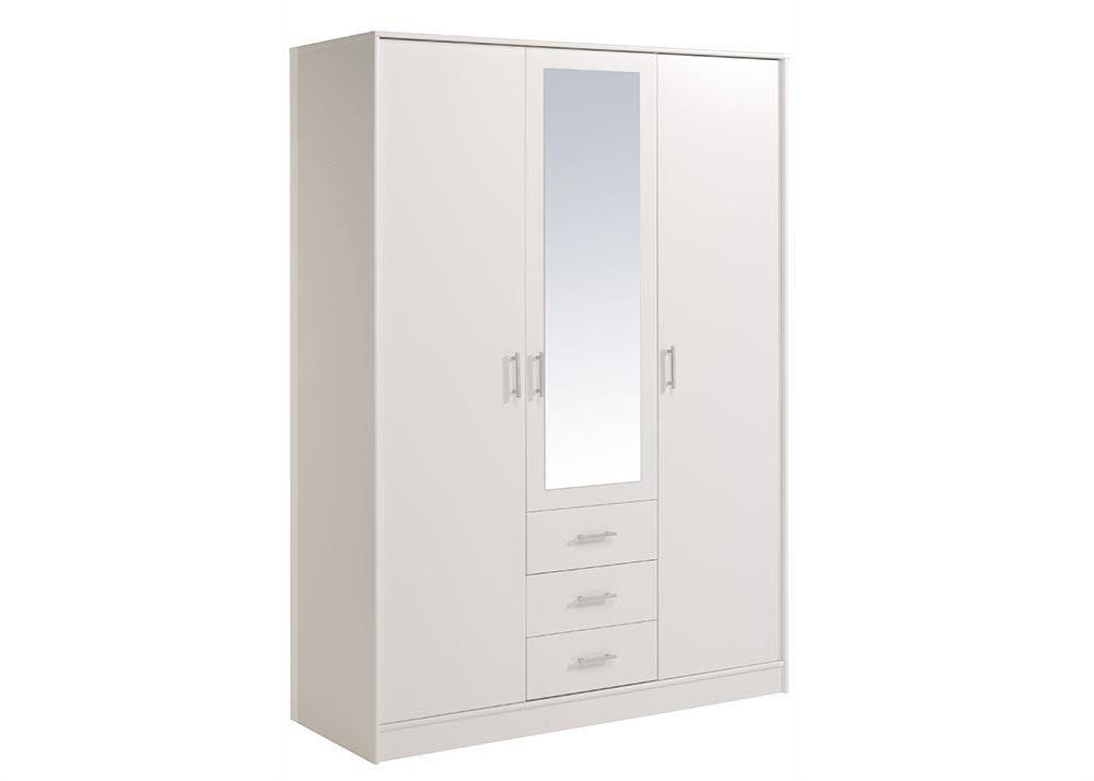 Jumbo-Möbel Kleiderschrank ESSENTIAL in Weißt, B: 148 cm günstig online kaufen