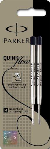 parker-quinkflow-confezione-da-2-ricariche-per-penna-a-sfera-tratto-medio-colore-nero