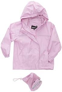 Gelert Girls Rainpod Jacket - Powder Pink, Size 9/10