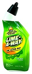 Lime-A-Way- Toilet Bowl Cleaner- Thick Gel Formula- Lime, Calcium & Rust Cleaner (Professional Strength Cleaning...