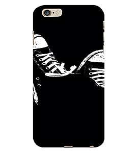 PrintVisa Cool Shoes Design 3D Hard Polycarbonate Designer Back Case Cover for Apple iPhone 6 Plus