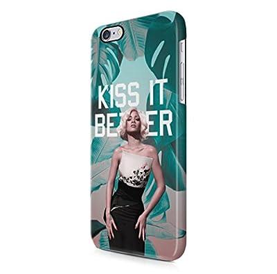 Rihanna Kiss It Better iPhone 6 Plus & iPhone 6S Plus Hard Plastic Phone Case Cover