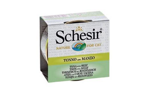 SCHESIR - SCHESIR TONNETTO CON MANZO IN BRODO 70 GR. - 0672