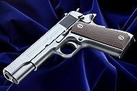 【WAスーパーリアルガン】WAムービーガン・シリーズ WAコルト M1911 A1 〈ビッグガン/ リアルスチールフィニッシュ〉