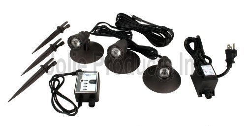 Led Pond & Landscape Spotlight Kit 3-Watt (G2)