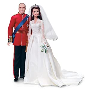 Barbie Collector William And Catherine Royal Wedding® Giftset. $148.9