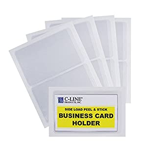 Amazon C Line Self Adhesive Business Card Holders