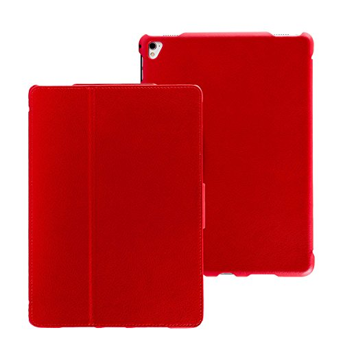 futlex-genuine-leather-tab-closure-case-for-ipad-pro-97-red-unique-design-multiple-stand-position-au