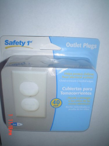 Outlet Plugs 40 pack, Safety 1st Electrical Outlet Plugs
